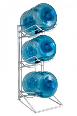 Large Spring Water Bottles Rack (3 Large Bottles)