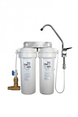 Pure Clean Under Sink Twin Filter System